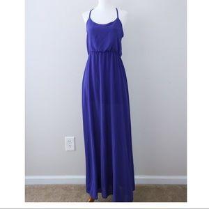 GB Royal Blue Maxi Dress